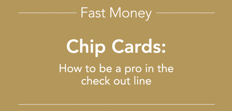 Fast Money Chip Cards